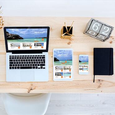 طراحی سایت آژانس مسافرتی 10