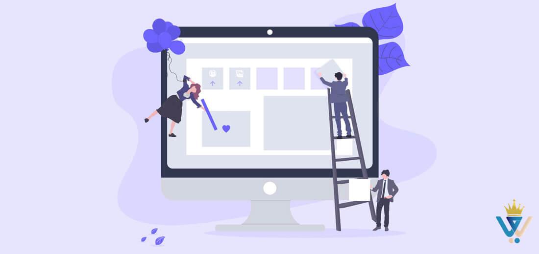 طراحی سایت وردپرس 100