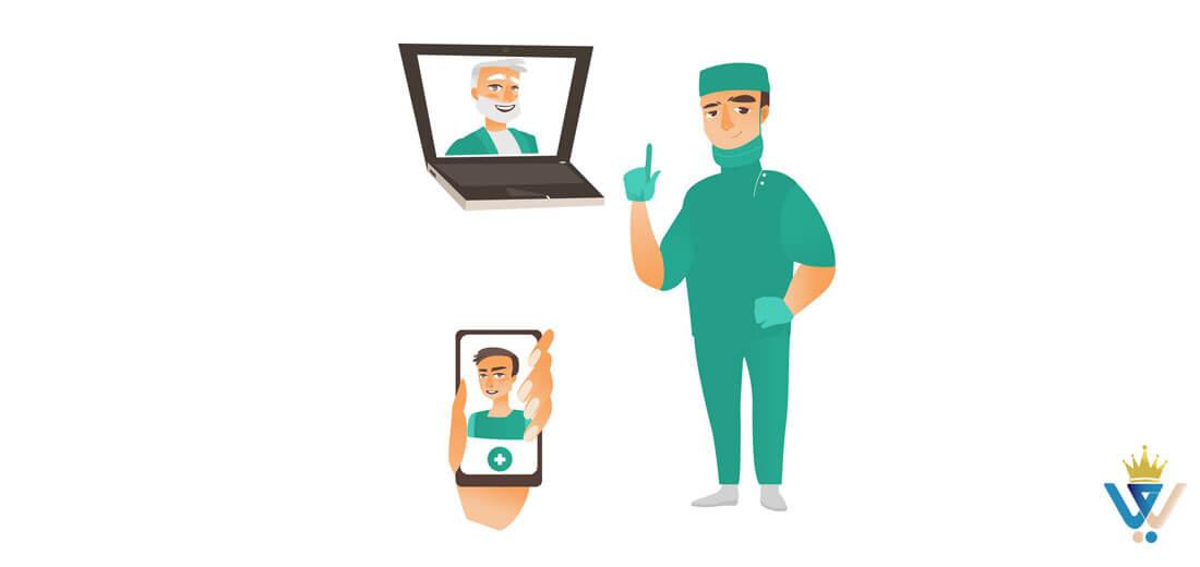 طراحی سایت پزشکی101