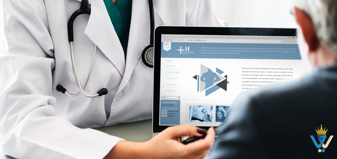 طراحی سایت پزشکی 102