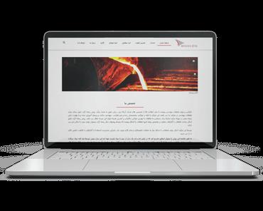 طراحی سایت وردپرس کارخانه